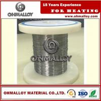 Wholesale Cr20Ni80 Thermoelectric / Heating Nichrome Alloy Wire For Ceramic Pad Heater from china suppliers