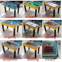 Wholesale New Style Multi Game Table Soft Handle Football Game Table With Colorful Player from china suppliers