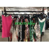 Quality Used Summer Clothes Silk Blouse , Second Hand Branded Clothes For Cambodia for sale