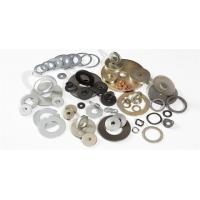 Wholesale Round Shape Prototype Machined Parts , Metal Machining Services For Spring Steel Washers from china suppliers
