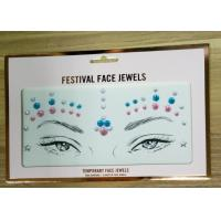 Wholesale Customized Size Face Gem Rhinestone Tattoo Stickers Skin Safe Non Toxic from china suppliers