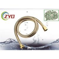 Wholesale 1.5M  Double locker Flexible Golden Color Painted Shower Hose Toilet Hose For Bathroom Iran Market from china suppliers