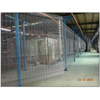 Quality 358 Anti climb clear vu fence panels hot dipped galvanized or powder coated for sale