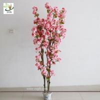 Wholesale UVG CHR090 3ft Pink cherry flower wedding tree for table centerpiece indoor decoration from china suppliers