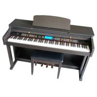 Wholesale 88 Key Digital Piano Electronic Piano Black Polished Using Dream Sound Chip Melamine Shell from china suppliers