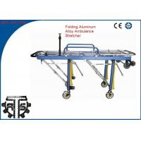 Wholesale Adjustable hospital stretcher Patient Trolley , Adjustable Wheel Stretcher from china suppliers
