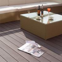 Quality Cheap environmental wood grain hollow composite wood deck/waterproof composite wood/Europe standard for sale