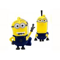 Wholesale Yellow Man Mock up Cartoon Computer Thumb Drive Customizable creative gift from china suppliers
