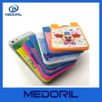 Wholesale Manufacturer custom cheap small silicone cell phone smart card wallet from china suppliers