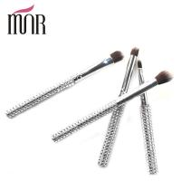 Quality Bling Bling Travel Makeup Brushes , Rhinestone 7 Pcs Face Makeup Brush Set for sale