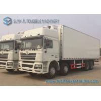 Wholesale Box 50 Cubic frozen truck rental Shacman 8x4 Heavy Cooling Van Truck 260 HP from china suppliers