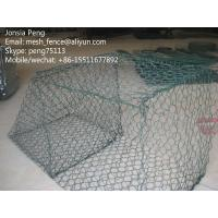 Wholesale Anti corrosion PVC coated gabion boxes for sandy soils from china suppliers