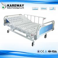 Quality Heavy Duty Bariatric Hospital Bed , 1.2m Wide Home Health Care Beds With Wood Head Board for sale