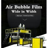 Wholesale Wide In Width PE Air Bubble Film making Machine 3000mm 7.5 TON Weight from china suppliers