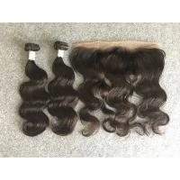 Wholesale Young Girl's Healthy Virgin Peruvian Human Hair Loose Wave Bundles No Bad Smell from china suppliers