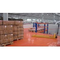 Wholesale 1-3 Levels Removable Industrial Mezzanine Floor System and Pallet Racking, Q235B from china suppliers