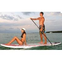 Quality Two handles Inflatable Sup Boards with fabric and glue 308 * 75 * 15cm for sale