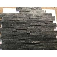 Wholesale Hottest Natural Stacked Stone, Wall cladding stone, Black Quartzite Ledgstone Tiles from china suppliers