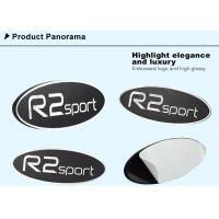 Quality Embossed Custom Metal Plates Sticker for Car Logo with Self Adhesive for sale