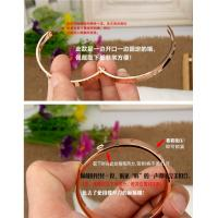 Quality Hotsales! Love Bracelet trendy copper alloy bangles concave-convex joint funmijewelry#foxmail#com gold silver rose gold for sale
