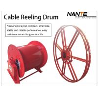 Wholesale Vertical IP65 380v / 440v Cable Reeling Drum With Red Surface Customized from china suppliers