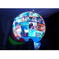 Wholesale Spherical P4.8 Creative LED Display Signage For Interior Shows Diameter 1200mm from china suppliers