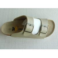 Wholesale Textile Casual OEM Beach Cork Slippers , 36#-41# Summer Beach from china suppliers