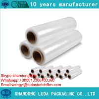 Buy cheap pallet stretch film Transparent Handy Stretch Film Plastic Stretch Wrap 23 Mics Stretch Film lldpe stretch film from wholesalers