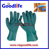 Wholesale Chemical Resistant Gloves, PVC Gloves, Fully Coated Gloves from china suppliers