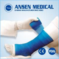 Wholesale 7.5cm medical tape colored bandage Orthopedic Casting Tape from china suppliers