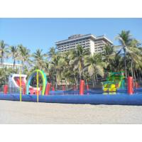 Wholesale Durable Inflatable Water Parks With Big Pool And Slides For Beach Or Hotel from china suppliers