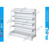 Wholesale Single Sided Supermarket Display Shelves steel Light Duty with Wire mesh from china suppliers
