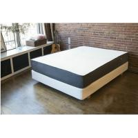 Wholesale 12 Inch Natural Latex Gel Memory Foam Bed Mattress Polyester Knitted / Suede Fabric from china suppliers