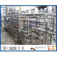 Wholesale 1000LPH 5000LPH SS 304 SS316L Tubular Uht Processing Equipment For Milk / Juice Production from china suppliers