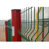 Wholesale White 14 15 16 Gauge Wire Mesh Fence , Green Plastic Coated Wire Fencing from china suppliers