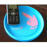 Wholesale Bule Soft Plastic Coin Tray Custom Round Cash Tray With Custom Logo from china suppliers