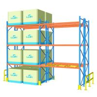 Wholesale 100cm Width Heavy Duty Pallet Racks For Supermarket / Factory Corrosion Protection from china suppliers