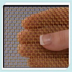 Wholesale decorative  brass wire mesh/copper wire mesh/copper wire mesh screen/brass mesh screen/copper wire mesh screen from china suppliers