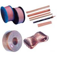Wholesale 5 X 10mm 322 OFC Transparent oxygen free speaker wire Copper CCA from china suppliers