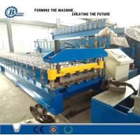 Wholesale Individual IBR Roof Panel Roll Forming Machine 0.3-0.7mm Thickness from china suppliers