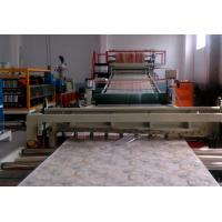Wholesale Decoration PVC Artificial Marble Board Making Machine / Plastic Sheet Extrusion Line from china suppliers