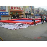 Wholesale Customed PVC Red Inflatable Water Pool In Summer 0.6 / 0.9 MM from china suppliers