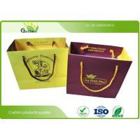 Wholesale Shopping Matt Lamination Printed Paper Gift Bags With 210 Grams Color Card Paper from china suppliers