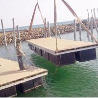 Wholesale Marina floating plastic floating pontoons from china suppliers