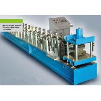 Wholesale 7.5Kw 180mm Feeding Coil Width Metal Shutter Door Roll Forming Machine PLC Control System from china suppliers
