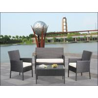 Quality 3pcs patio wicker sofa/rattan garden furniture WS-001 for sale