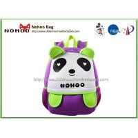 Wholesale Panda Cartoon Waterproof Kids Backpack For Kindergarten Boys And Girls from china suppliers