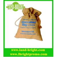 Wholesale Popular Promotion Jute Drawstring Bag from china suppliers