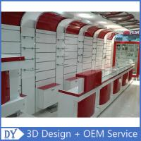 Buy cheap Custom Popular Retail Wood Glass Mobile Shop Counter Design For Mobile phone store from wholesalers
