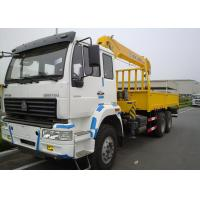 Wholesale 10 Ton Telescopic Boom Truck Crane Commercial , 13.5m Max Reach from china suppliers